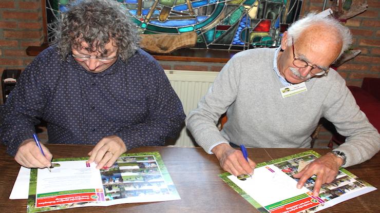Duurzaamheidsvallei tekent samenwerking met Groene Woud